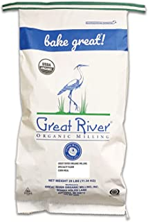 product image for Great River Organic Milling, Specialty Flour, Corn Meal, Stone Ground, Organic, Non-GMO, 25-Pounds (Pack of 1)