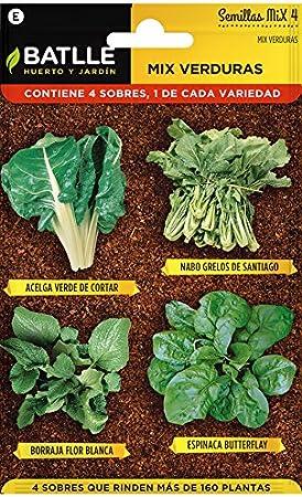 Huerto Urbano - Mix Verduras - HU - Batlle: Amazon.es: Jardín