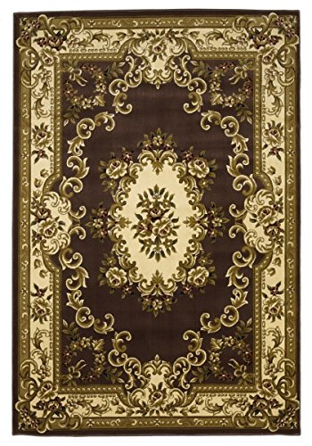 - KAS Oriental Rugs Corinthian Collection Aubusson Area Rug, 7'7