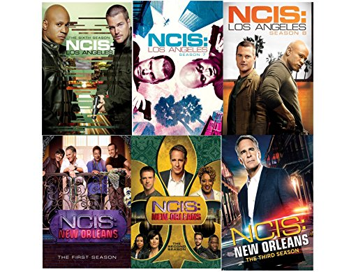 NCIS Los Angeles: Complete Series 6-8 + NCIS New Orleans 1-3