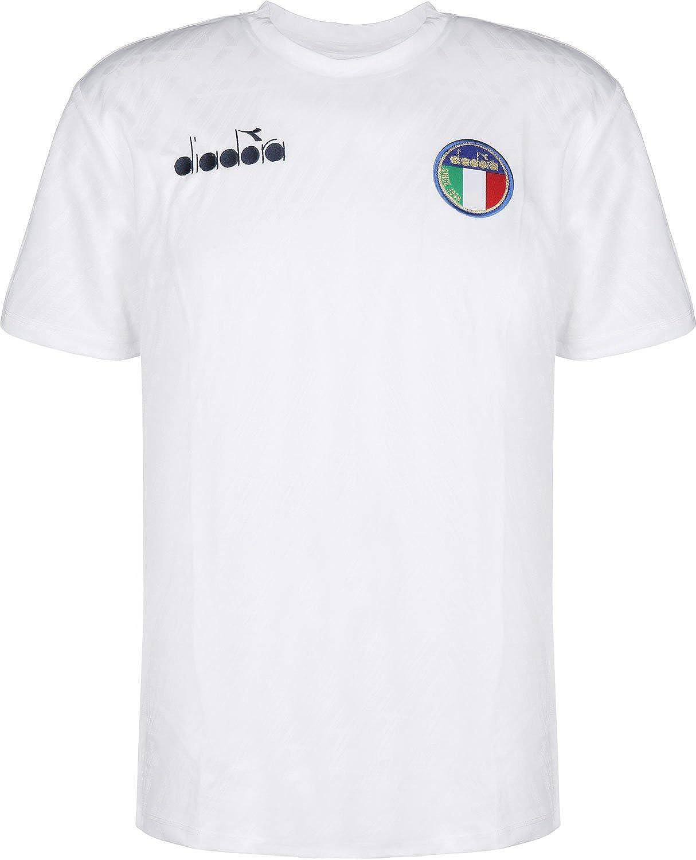 Diadora SS RB94 T Shirt Optical White S: Amazon.co.uk: Clothing