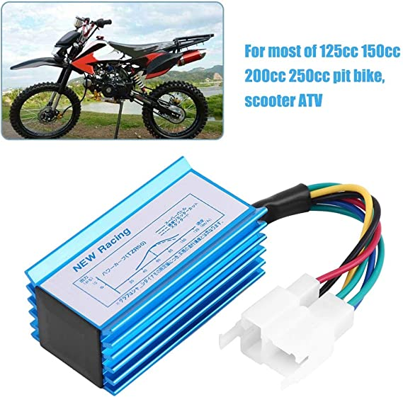 Ignition Coil Spark Plug Wire CG 125cc 150cc 200cc 250cc ATV Go Kart Dirt Bike Pit Bike