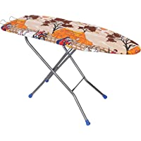 TruGood Big Folding Base Ironing Board/Iron Table with Press Stand for Home (Extra Large , Multicolour)