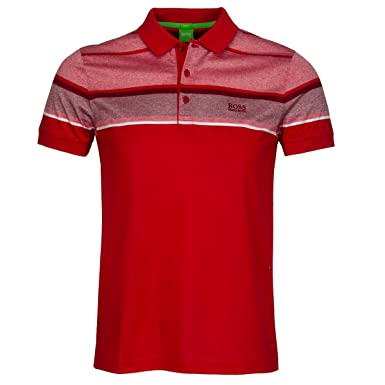 BOSS Hugo Polo - para Hombre Rojo Medium Red Medium: Amazon.es ...