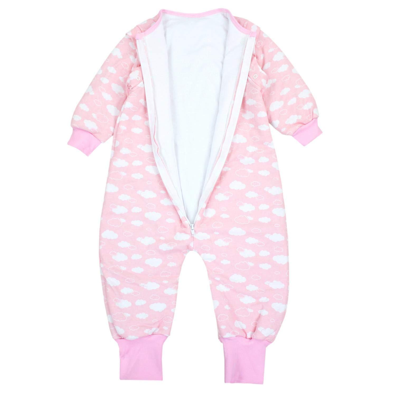 TupTam Baby Unisex Schlafsack mit Beinen und /Ärmel Winter
