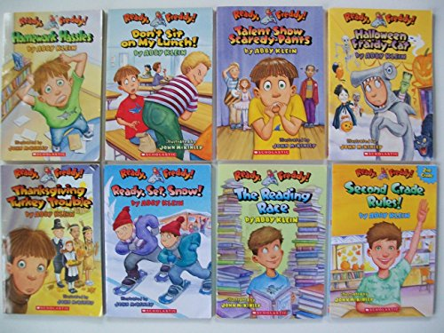 Ready Freddy (8 Set) Homework; Lunch; Talent; Halloween; Thanksgiving; Snow; Reading Race -