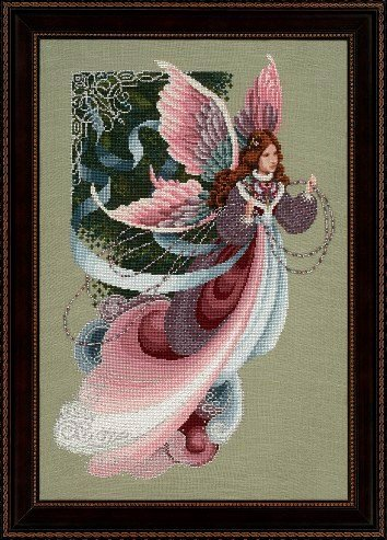 Lavender & Lace - Fairy Dreams - Victorian Counted Cross Stitch Pattern (L&L 41)