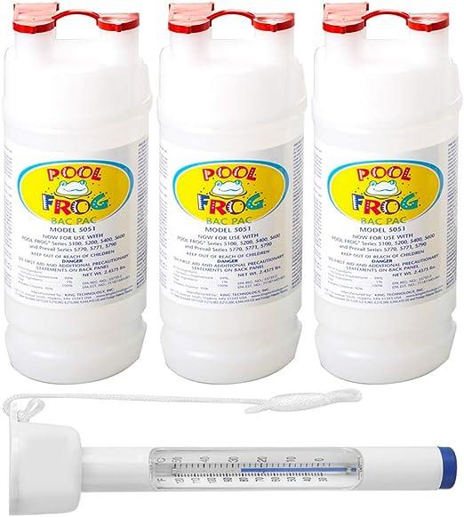 King Technology - Recambio de purificador de minerales para Rana de Billar: Amazon.es: Jardín