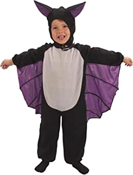 Toddler cute bat suit halloween fancy dress costume 2-3 years ...