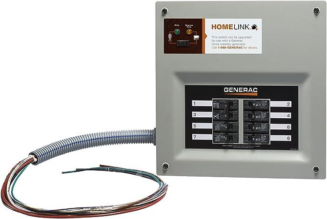 [SCHEMATICS_4CA]  Amazon.com: Generac 6852 Home Link Upgradeable Transfer Switch Kit, 30 Amp:  Garden & Outdoor | Wiring Diagram For Generac Transfer Switch |  | Amazon.com