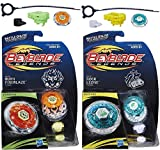 Beyblade Legends BB-59 Burn Fireblaze 135MS Top & BB-30 Rock Leone 145WB Top Bundle