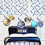 30pcs Solar System Party Supplies PlanetHanging Decorations for Birthday Party/Kids room/Classroom
