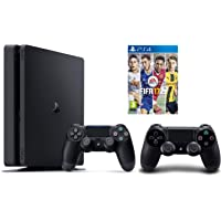 Sony Playstation 4 Slim 500GB with Extra Controller + FIFA 17