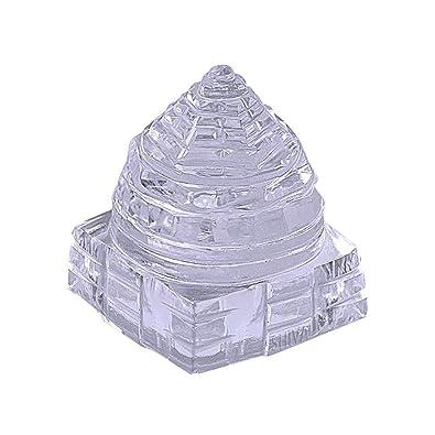 Shiva Rudraksha Ratna Natural Quartz Crystal / Sphatik Shri