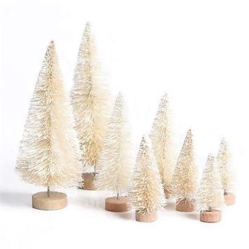 Weißer Tannenbaum Künstlich.Doxmal Künstlicher Weihnachtsbaum Mini Tannenbaum Deko Künstlich Christmas Tree Unstlicher Klein 3d Weihnachtsbaum Decoration Weisser