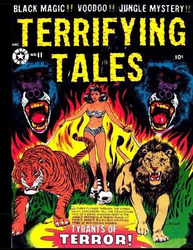 Terrifying Tales #11: Golden Age Jungle Mystery Comic 1953 - Tyrants of Terror!