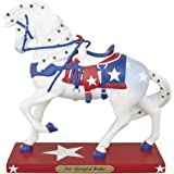 The Trail of Painted Ponies Star Spangled Rodeo Patriotic Horse Figurine