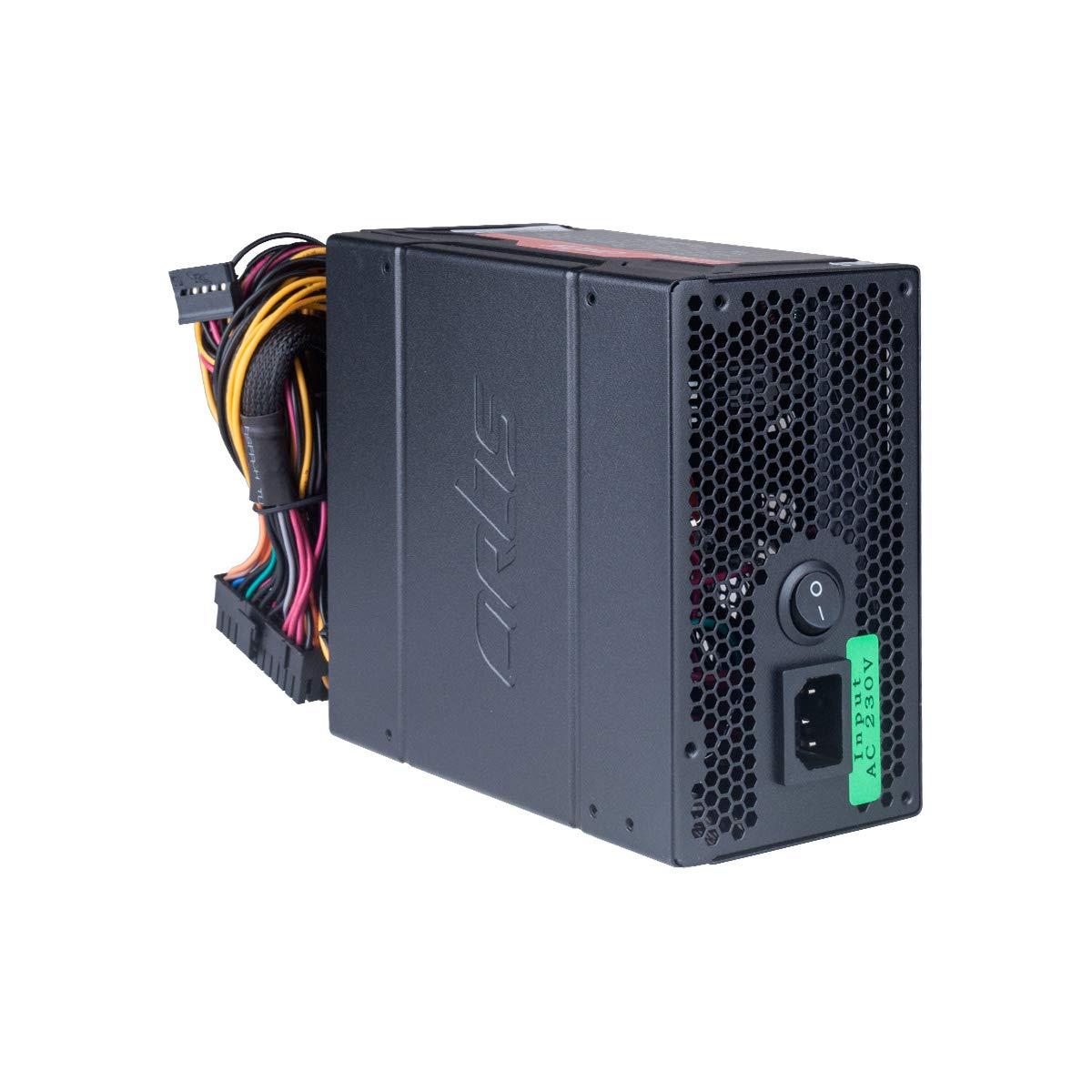 Artis AR-VIP 600W-New 600 Watt Super Silent Power Supply Unit (Black)