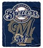 Milwaukee Brewers 50x60 Fleece Blanket - Wicked Design