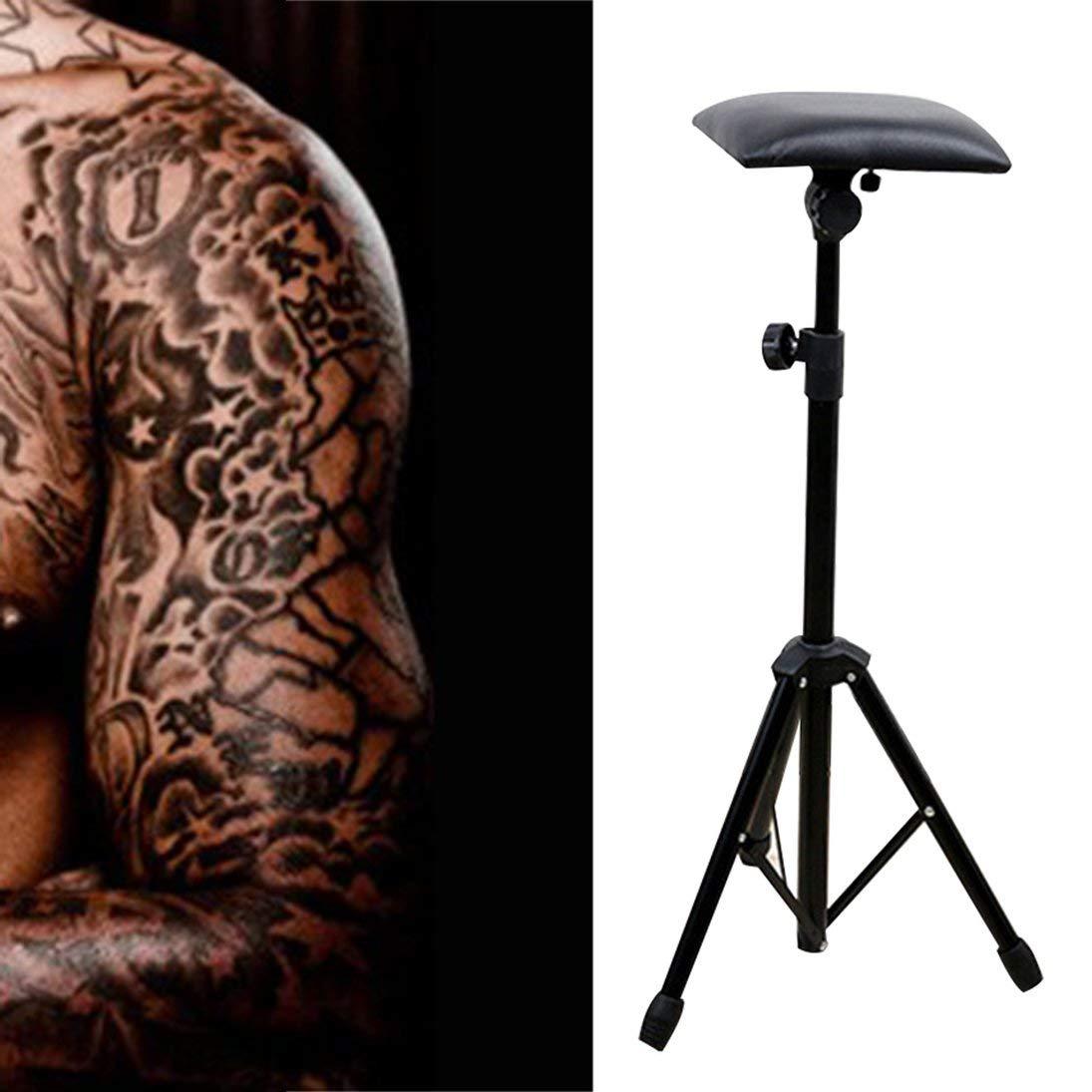 ToGames Herramienta de Equipo de Tatuaje Soporte de Mano de Tatuaje de Acero al manganeso Soporte de Brazo port/átil Marco de Soporte Plegable