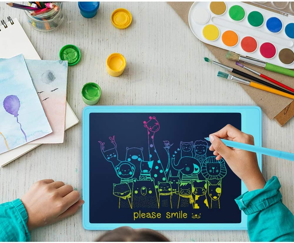 Tagke 8.5 Inch//10 Inch LCD Writing Tablet Doodle Blackboard LCD Tablet with Lock Button Childrens Hand-Painted Board LCD Light Energy Small Blackb Color : A