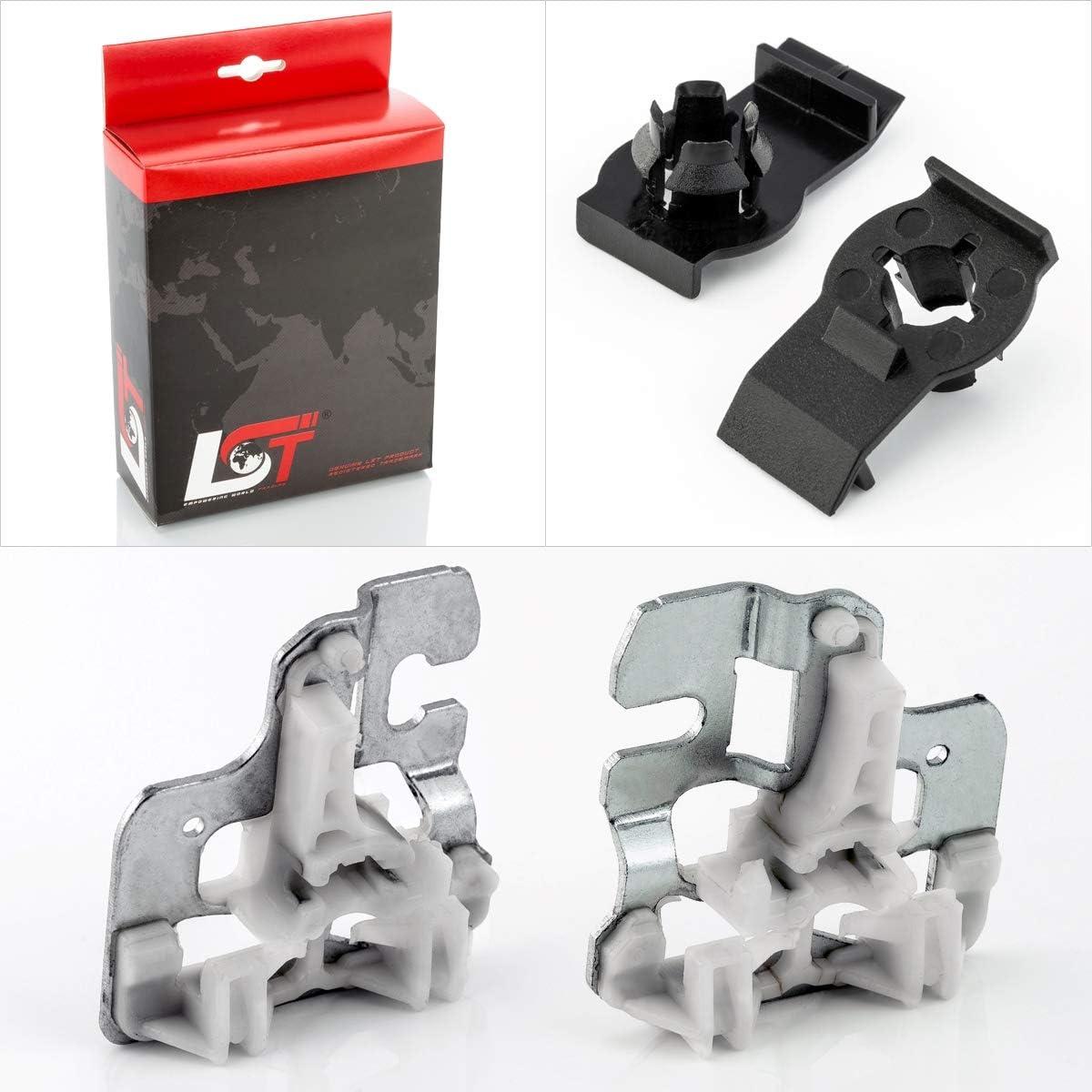 LST Fensterheber Reparatursatz Set Metall Gleitst/ücke Klammer VL//VR X5 E53