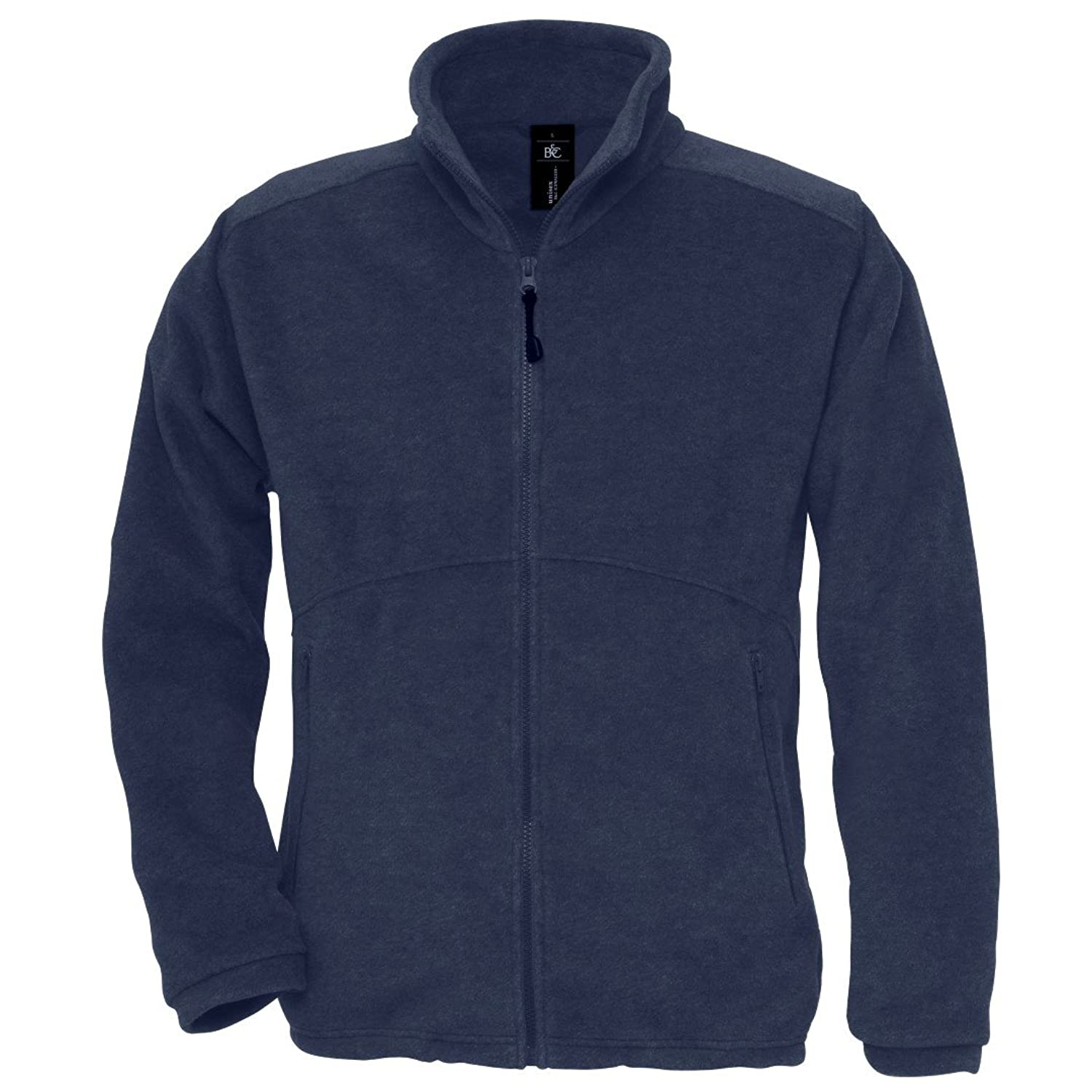 B&C Collection Mens Ba501 Icewalker+ Fleece Jacket Navy M
