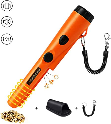 Metal Detector Pinpointer,Probe Waterproof Portable Handheld Metal Detectors Set