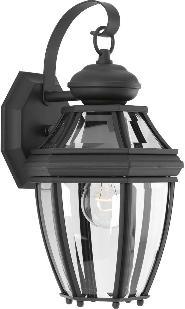 Progress Lighting P6610-31 New Haven One-Light Small Wall Lantern, Polished Chrome