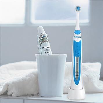 Cepillo de Dientes Eléctrico Limpio como Dentista Sónico Recargable Cepillo Giratorio Cabeza: Amazon.es: Electrónica