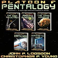 Platoon F: Pentalogy Audiobook by Christopher P. Young, John P. Logsdon Narrated by John P. Logsdon