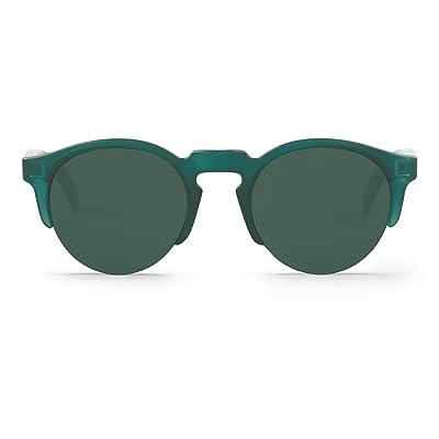 Mr.Boho. Emerald Born With Classical Lenses. Gafas de sol Unisex: Ropa y accesorios