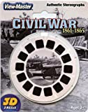 ViewMaster -The Civil War - Authentic Stereographs 1861-1865 - 3 Reels on Card- NEW