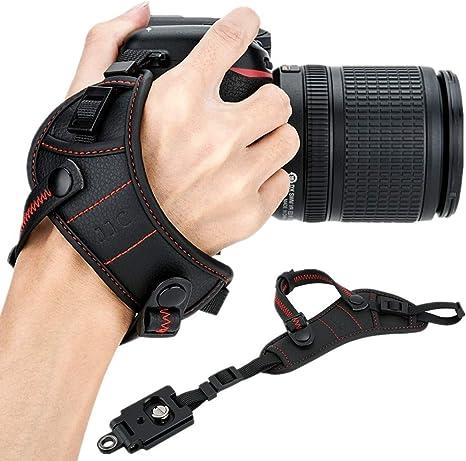 JJC - Correa de Mano para cámara réflex Digital con Placa Tipo ...