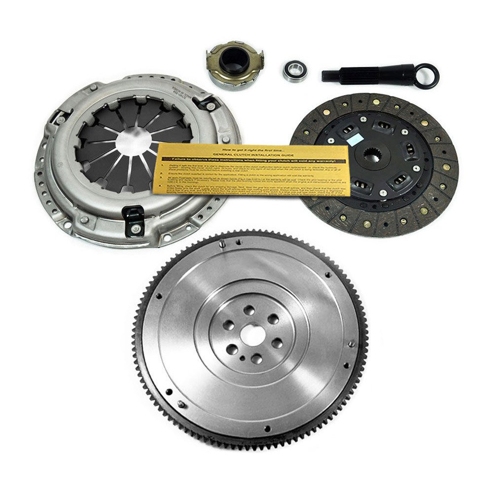 Amazon.com: EFT HD CLUTCH KIT&OEM FLYWHEEL 92-05 HONDA CIVIC DX LX EX HX GX 1.5 1.6 1.7L SOHC: Automotive
