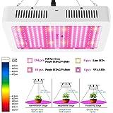 2000W LED Grow Light, Full Spectrum Plant Growing Lamps for Indoor Seedling Veg Flower Bloom Harvest W/ UV IR Flower…