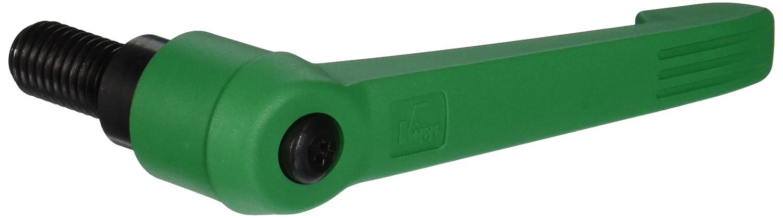 Size 5 Inch K0269.5A686X30 Steel Components 30 mm Screw Length Kipp 06610-5A686X30 Fiberglass Reinforced Plastic//Steel Adjustable Handle with 5//8-11 External Thread,Novo/·Grip Style Signal Green Color Novo/·Grip Style KIPP Inc