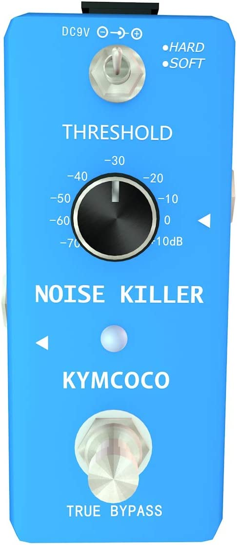 Kymcoco Noise Killer Noise Gate Suppressor Effect Pedal For Enjoying Your Pure Music