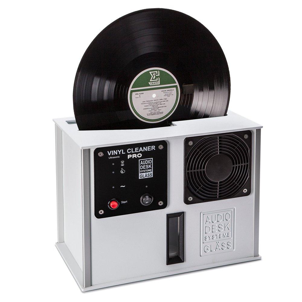 Audio Desk Systeme Premium Ultrasonic Vinyl Cleaner PRO, White