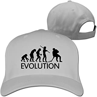 Feruch Evolution Of A Hockey PlayerHat Baseball Caps Ash
