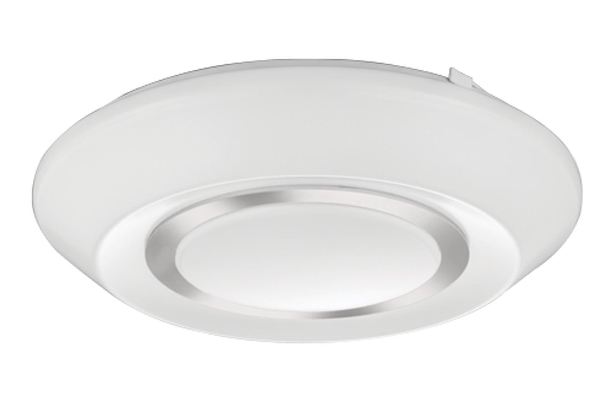 Lithonia Lighting FMGRGL 14 20840 KR M4 Glenridge LED 4000K Flush Mount Round Ceiling Light, 14-Inch, Chrome