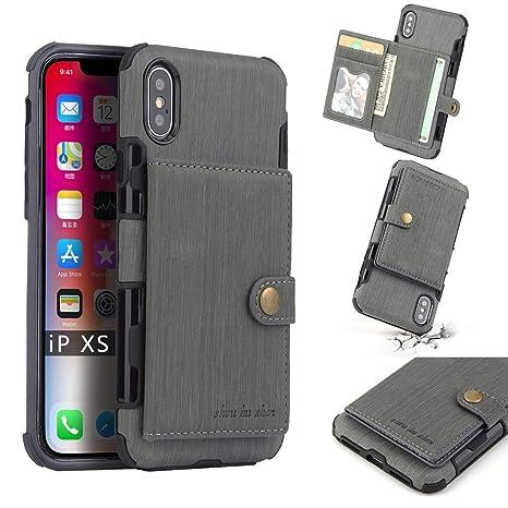 Andre Estuches de teléfonos celulares para iPhone XS, Funda ...