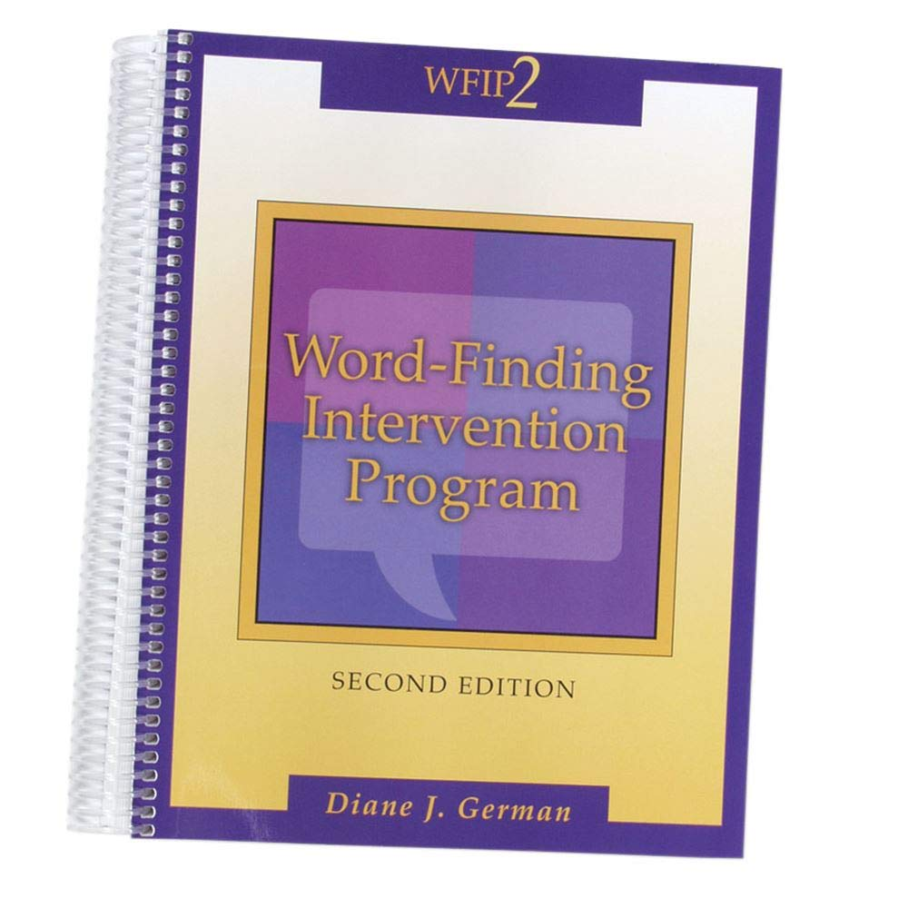 Word Finding Intervention Program, Second Edition, Diane J. German by AliMed
