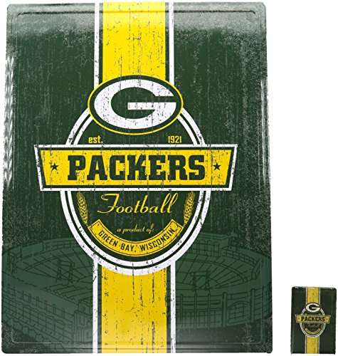Tin Nfl Bay Packers Green (NFL Green Bay Packers 16
