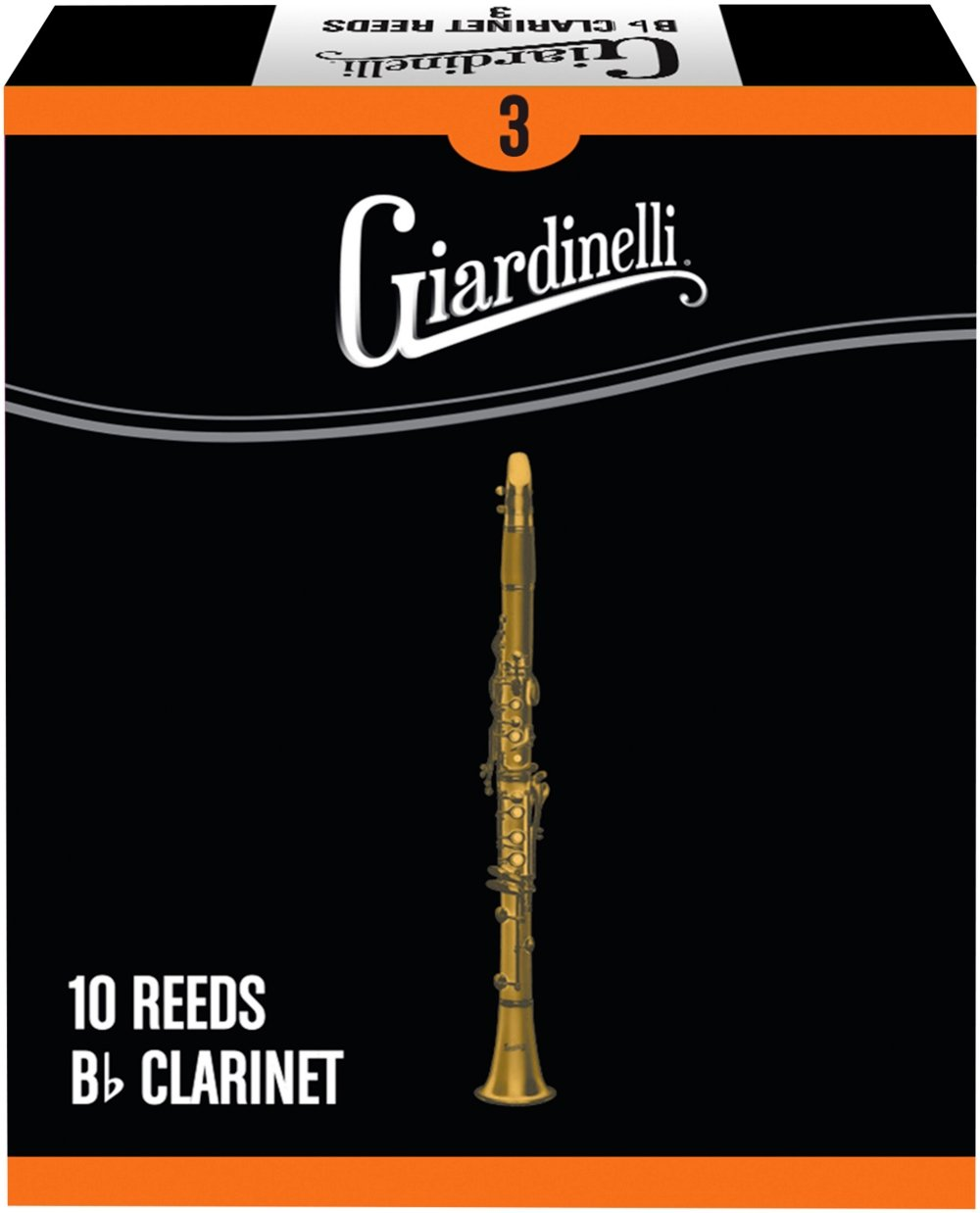 Giardinelli Bb Clarinet Reed 10-Pack 3