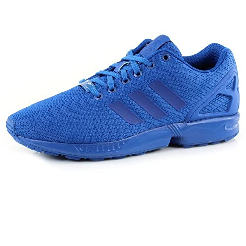 super popular a1a73 8b401 adidas Originals ZX Flux Blue: Amazon.co.uk: Shoes & Bags