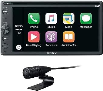 Sony XAVAX205DB -Media receptor de 16,3cm (6,4pulgadas, con Bluetooth, Apple CarPlay y Android Auto, navegación, Spotify)