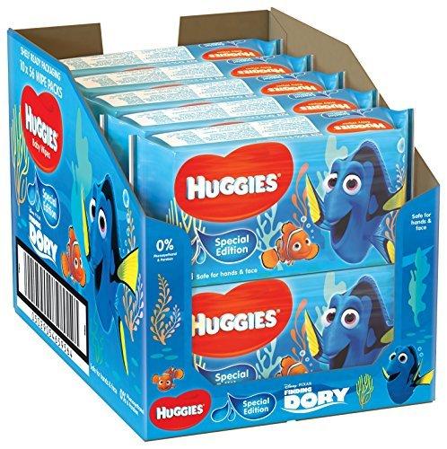 Huggies Disney Special Edition Baby Wipes 56 Pieces (Pack Design May Vary) - Pack of 10 (560 Wipes) by Huggies: Amazon.es: Salud y cuidado personal