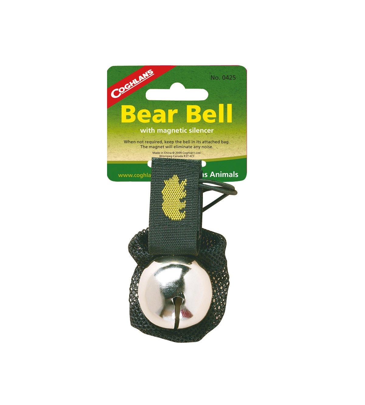 Coghlan's Bear Bell with Magnetic Silencer, Black Coghlans 0425