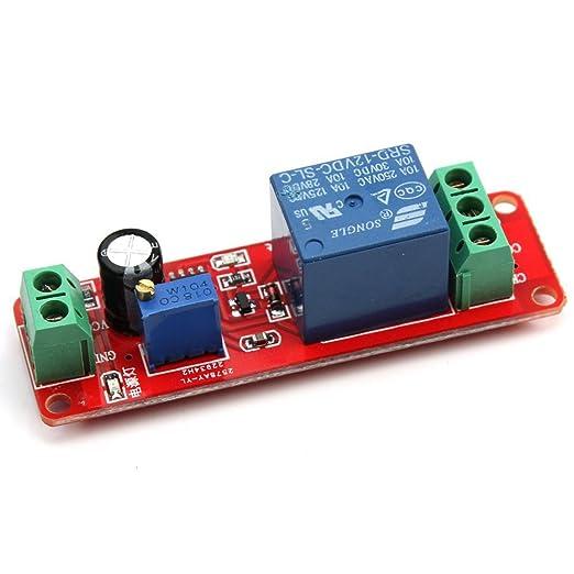 22 opinioni per Rosenice DC 12V NE555 Delay Timer relè monostabile Timer Switch Module